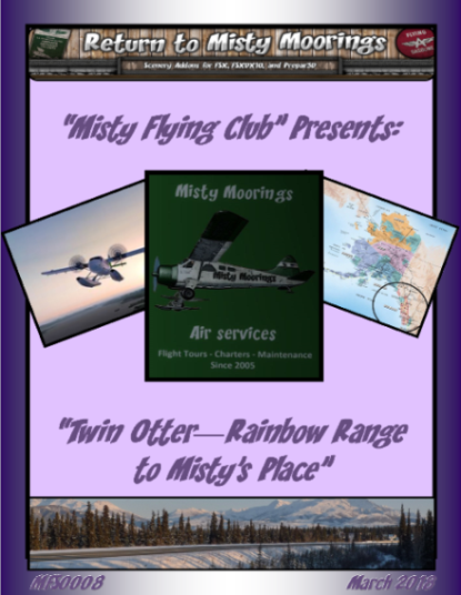 MFC0008 Twin Otter Rainbow Range to Mistys Place