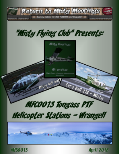 MFC0013 Tongass PTF AI Helicopter Stations Wrangell