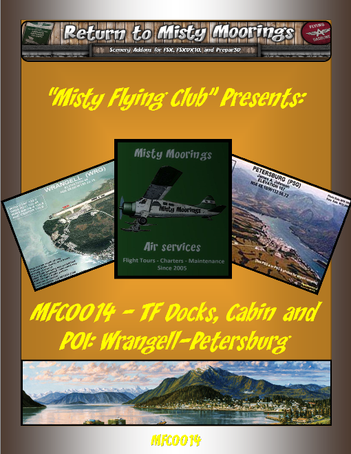MFC0014 TF Docks, Cabins and other POI – Wrangell-Petersburg