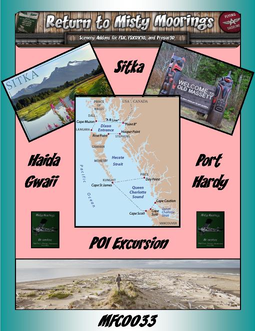 MFC0033 Sitka-Haida Gwaii-Port Hardy POI Excursion